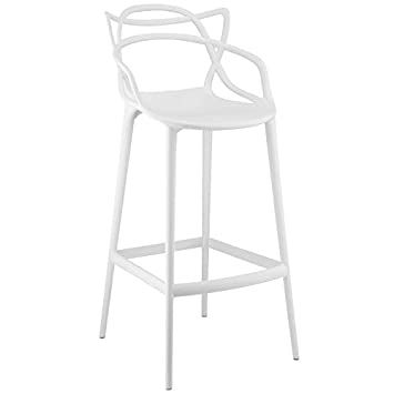 Modway Entangled Bar Stool, White
