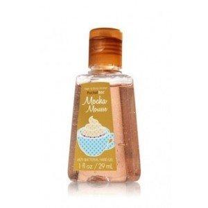 bath and body Works mocha mousse Anti-bacterial Hand Gel 1 Fl Oz pocketbac