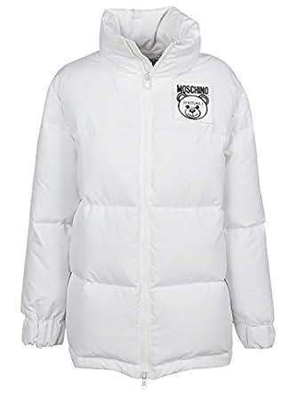 Moschino Luxury Fashion Womens V052054190002 White Down Jacket   Fall Winter 19