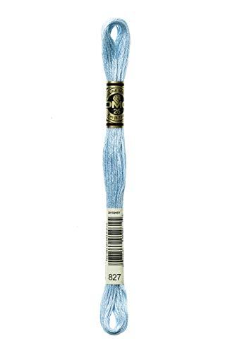 DMC 117-827 6 Strand Embroidery Cotton Floss, Very