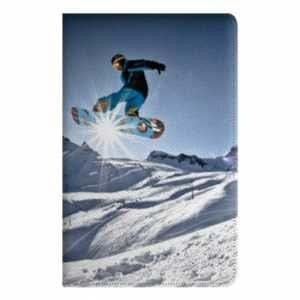 leather flip Case Carcasa Ipad Air 2 Sport Glisse - - snowboard rayon B -