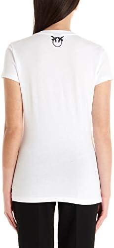 Pinko Luxury Fashion Donna 1B14J3W0Y1Z04 Bianco Cotone T-Shirt | Primavera-Estate 20