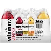vitaminwater zero variety pack , 12 ct, 20 FL OZ Bottle