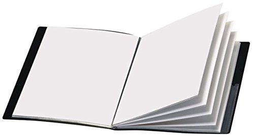 Office Depot Brand Custom Showfile Display Book, 24 Pockets, Black ()