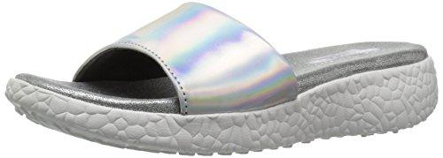 Skechers 3n la Cali Sandalia Explosi Diapositivas la de Silver de cC1aWc