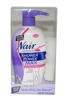 Nair douche puissance Max femmes Hair Remover - nouveau 13 Oz