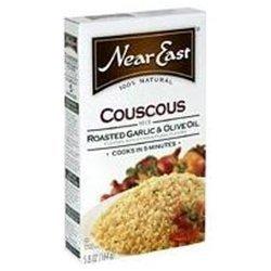 Near East Prld Garlic Olive Oil Couscous (12x4.7) ( Value Bulk Multi-pack) by Near East