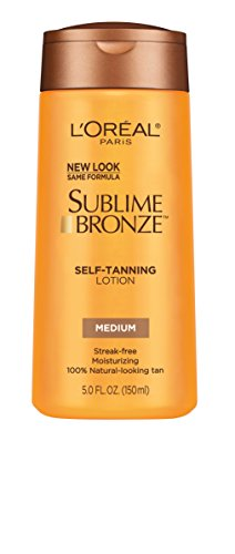 Loreal Sublime Bronze Self Tanning Towelettes - L'Oreal Paris Sublime Bronze Self-Tanning Lotion, Medium, 5 fl. oz.