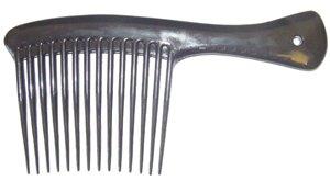 9 Jumbo Rake Comb Black