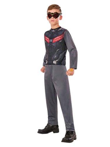 Boys Marvel Captain America Falcon Basic Costume (Medium 8-10)