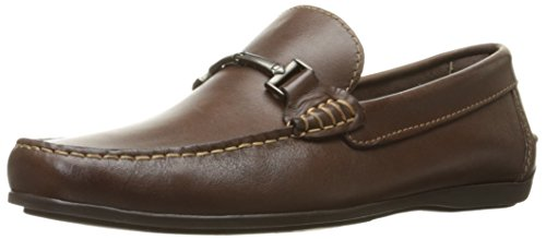 - Florsheim Men's Jenson Bit Ornament Slip-On Loafer, Brown, 8.5 D US