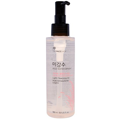 The Face Shop - Rice Water Bright - Cleansing Light Oil - Facial Care