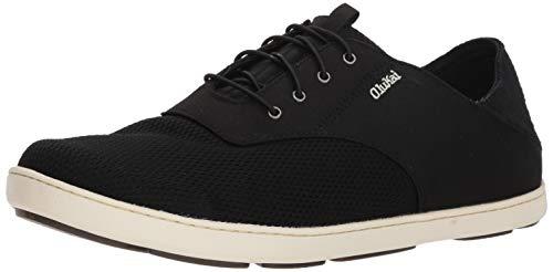 OLUKAI Men's Nohea Moku Shoes 9 Onyx/Onyx