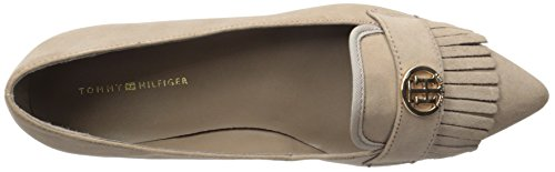 Tommy Hilfiger Womens Terzo Driving Style Mocassino Taupe