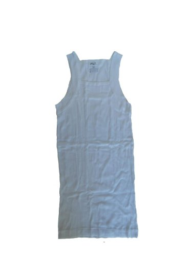 2(x)ist Men's Luxe Square-Cut Tank Top (Small, White) (2 X Top Tank ) Cotton Ist ()