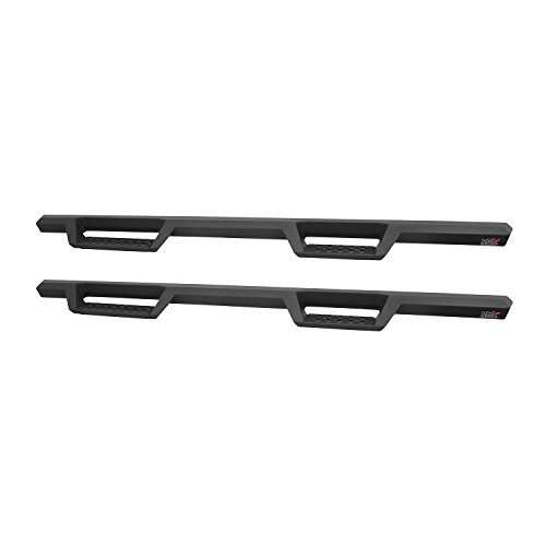 Rails Westin Step - Westin 56-13565 HDX Drop Nerf Step Bars, Textured Black