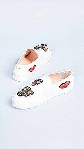 Kate Spade New York Donna Lizbeth Patch Slip On Sneakers Bianco
