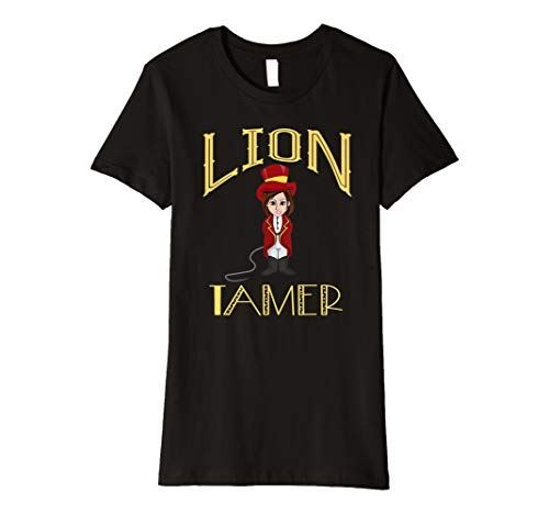 Circus Lion Tamer Girls Costume - Female Lion Tamer  Premium T-Shirt]()