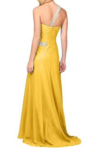 Por la noche la gasa nupcial modern en forma de corazón de la Toscana vestidos de novia vestidos de fiesta de vírgenes de largo vestidos de Prom vestidos de bola dorado