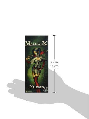 Wyrd Miniatures Malifaux Resurrectionists Nurse Model Kit 5