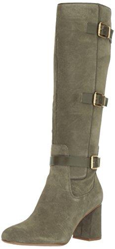 Franco Sarto Women's Knoll Knee High Boot, Pastoral Green, 7 Medium US by Franco Sarto