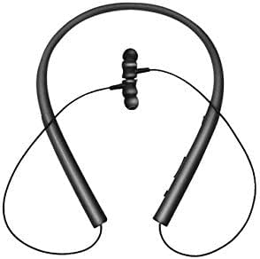 FairOnly P200 Blueteeth 5.0 Earphones Sports Neck-mounted Binaural HD HiFi In-ear Headset black Electronics