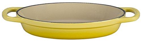 Le Creuset Enamel Cast Iron Signature Oval Baker, 2.25 quart, Soleil by Le Creuset (Image #1)