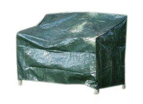 Videx 22133 PE- Schutzhaube für Gartenbank-2 Sitzer, grün grün