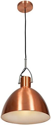 Essence – 1 Light – Pendant – Brushed Copper Finish