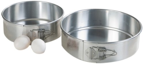 Carlisle 6041 Aluminum Springform Pan, 8'' Diameter x 2.75'' Depth (Case of 6) by Carlisle