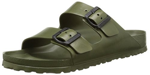Birkenstock Unisex Arizona Khaki EVA Sandals 39 (US Men's 6-6.5/US Women's 8-8.5)