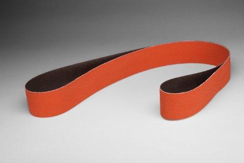 3M Cubitron 777F Coated Ceramic Sanding Belt - 40 Grit - 1 in Width x 42 in Length - 76527 [PRICE is per BELT]
