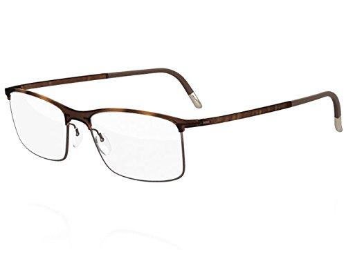 Silhouette Eyeglasses URBAN FUSION Collection 2904 (havana walnut, 54mm)