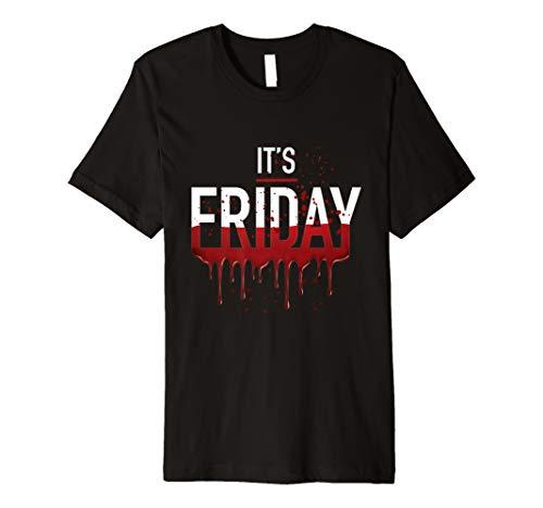 It's Friday Funny Horror Halloween Gifts Costume Idea Premium ()