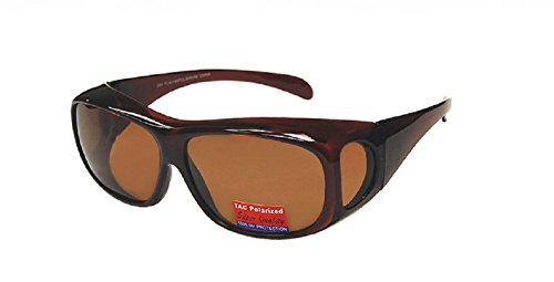 - Polarized Fit Over Size Large - Brown