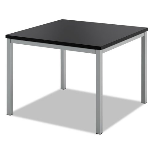 basyxiuml;iquest;frac12; quot;Occasional Corner Table, 24w x 24d, Blackquot; Unit of measure: EA, Manufacturer Part Number: BSXHML8851P by Basyx