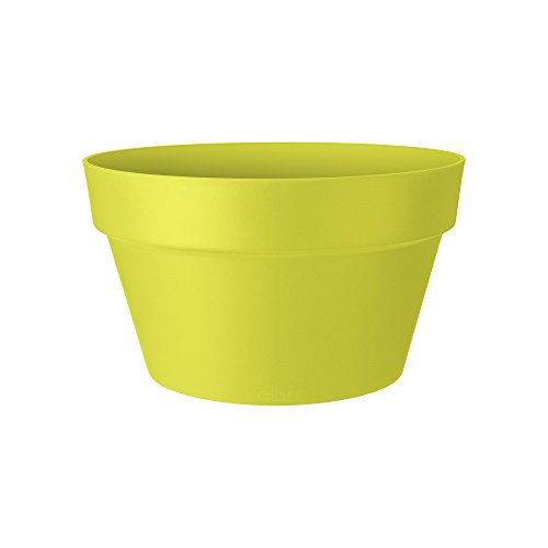 Elho Loft Urban Bowl 35 - Flowerpot - Lime Green - Outdoor - 脴 35 x H 20.2 cm
