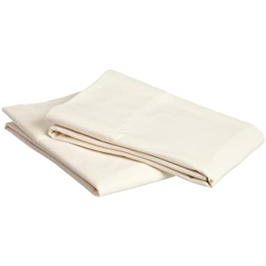 Pinzon Heavyweight Flannel Pillowcases - Standard, Cream
