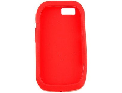 Soft Silicone Phone Cover Case Red For Motorola ()