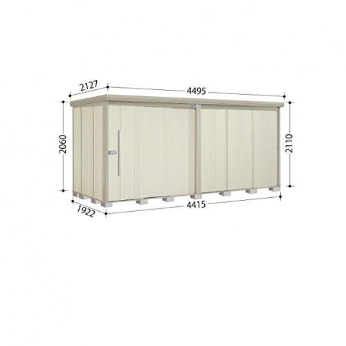 タクボ物置 ND/ストックマン ND-4419 一般型 標準屋根 『屋外用中型大型物置』 ムーンホワイト B00GQWLVW2
