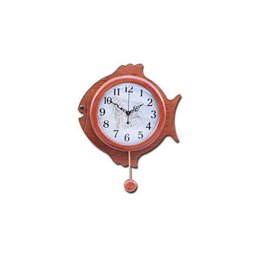 (Chinese Style Living Room Clock, Silent Solid Wood Clocks, Creative Art, Personality, Stylish Bedroom Clock, Home Pendulum Watch)