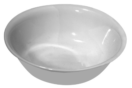 Corelle Livingware Soup/Cereal Bowl, Winter Frost White, 18-Ounce