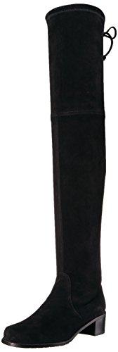Stuart Weitzman Women's Midland Over The Knee Boot, Black, 7.5 Medium US by Stuart Weitzman
