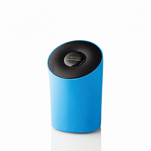 Portable Wireless Speaker - Lepow Modre Portable Wireless Bluetooth Speaker with High Def Sound Connects with iPhone, iPad, Samsung, and More