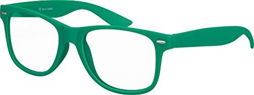 17 Charnière qualité Nerd mat transparent Vert Verre de Lunettes Carnaval choix au Unisexe plusieurs avec Modèles haute Soleil Foncé Rétro Gomme soirée Vintage à ressort couleurs fUZqdwx5n