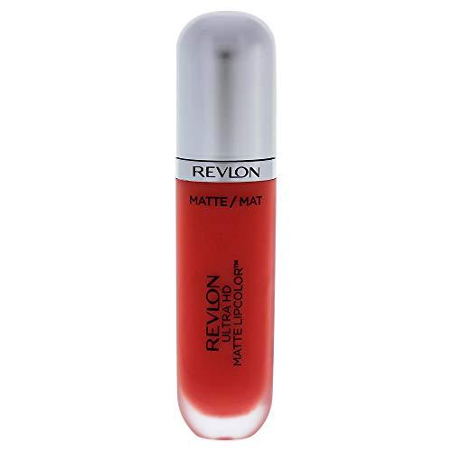 Revlon Ultra HD Matte Lipstick, Flirtation