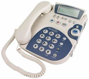 Clarity Personix Amplified Phone 50dB WHITE (Special Needs Products / Corded)
