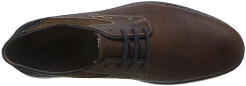 Rieker Mens-lace-up Marrone 641.357-2 Marron / Sella / Pacifico / Navy
