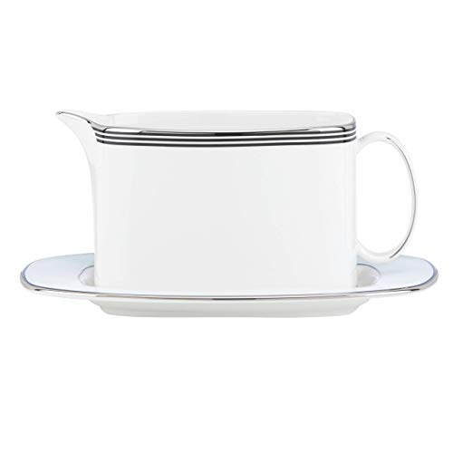 kate spade New York 848417 Parker Place sauceboat and stand