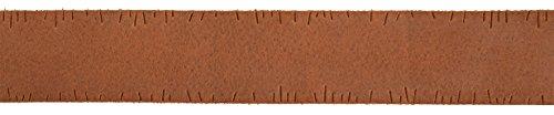 Gusti Leder studio Ledergürtel Herrengürtel Damengürtel Gürtel Jeansgürtel Büffelleder Leather Belt Echtes Leder Hochwertig Klassisch Schlicht Elegant Robust Unisex Braun 2G110-17